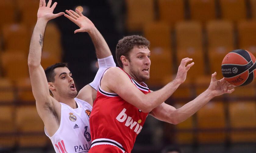 EuroLeague: Στη Μαδρίτη με Ρεάλ ο Ολυμπιακός