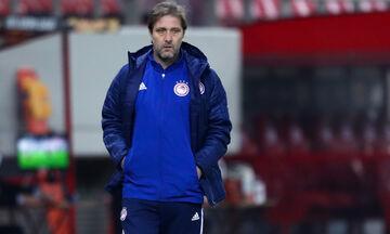 Μαρτίνς: «Θέλαμε να γίνει νωρίτερα ο τελικός Κυπέλλου, κρίσιμο το παιχνίδι με ΑΕΚ» (vid)