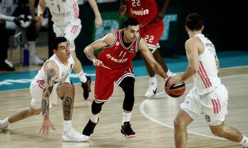 Ρεάλ Μαδρίτης – Ολυμπιακός 72-63: Αποχαιρέτησε την Ισπανία με ήττα (highlights)