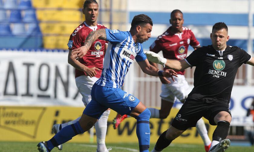 Super League 1: Νίκη για τον ΟΦΗ - Ισοπαλίες σε Λάρισα, Λαμία και Περιστέρι (βαθμολογία - HL)