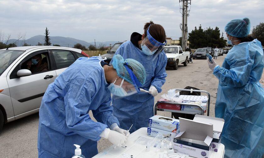 Κορονοϊός (3/4): Στα 3.232 τα νέα κρούσματα - 755 διασωληνωμένοι, 70 νεκροί