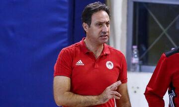 Ολυμπιακός: Σαραντίτης: «Να έχουμε πάθος και αυτοπεποίθηση»