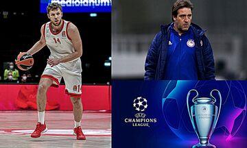 Τα 7 κορυφαία: Η αντίδραση του Μαρτίνς, το νέο Champions League και η ρήτρα του Βεζένκοφ