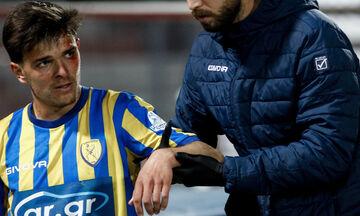 ΑΕΛ - Παναιτωλικός 1-1: Εξάρθρωση ώμου ο Τσιγγάρας και χάνει την υπόλοιπη σεζόν