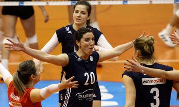 Κύπελλο Βόλεϊ Γυναικών: Με τον ΑΟ Θήρας, στην Σαντορίνη ο Ολυμπιακός