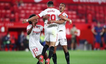 La Liga: Α-κούνια που την... κούναγε την Ατλέτικο Μαδρίτης στην Σεβίλλη κι ήττα με 1-0 (highlights)!