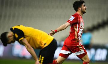ΑΕΚ - Ολυμπιακός: Το γκολ του Μασούρα για το 0-2 (vid)