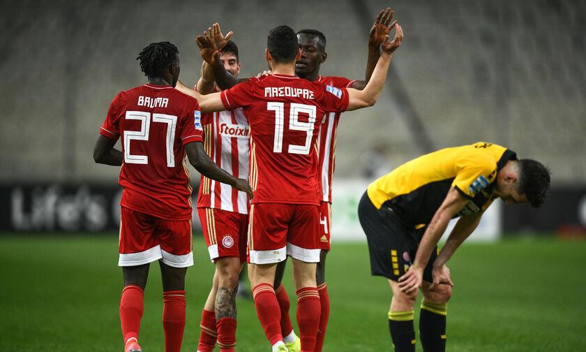 Τα highlights του ΑΕΚ - Ολυμπιακός 1-5 (vid)