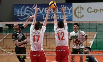Volley League Ανδρών: Οριστικά έκτος ο Μίλων, 3-0 τον Φίλιππο Βέροιας