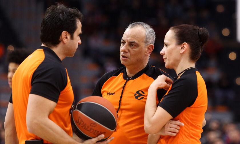 Euroleague: Οι διαιτητές των αγώνων του Ολυμπιακού και του Παναθηναϊκού