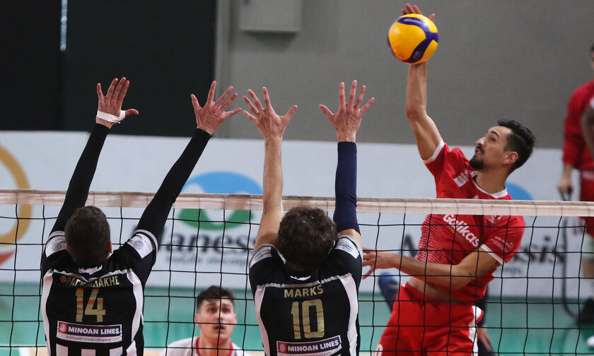 Volley League Ανδρών: Ολοκλήρωσε με νίκη ο Φίλιππος, 3-0 τον ΟΦΗ
