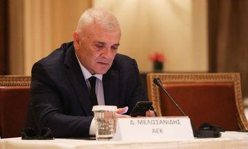 Επιτροπή Δεοντολογίας ΕΠΟ: Εισήγηση για ισόβιο αποκλεισμό Μελισσσανίδη και αφαίρεση βαθμών στην ΑΕΚ
