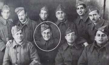 Λάμπρος Κωνσταντάρας: Ήρωας στην Αλβανία το '40, τον έσωσε ο Ελύτης