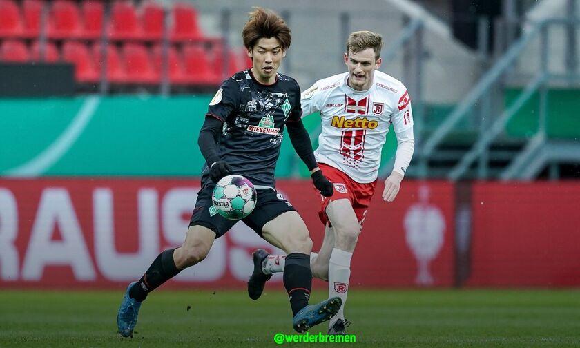 Ρέγκενσμπουργκ - Βέρντερ Βρέμης 0-1: Και τώρα... Λειψία για τους «πράσινους»