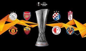 Europa League: Οι ενδεκάδες στα τέσσερα παιχνίδια