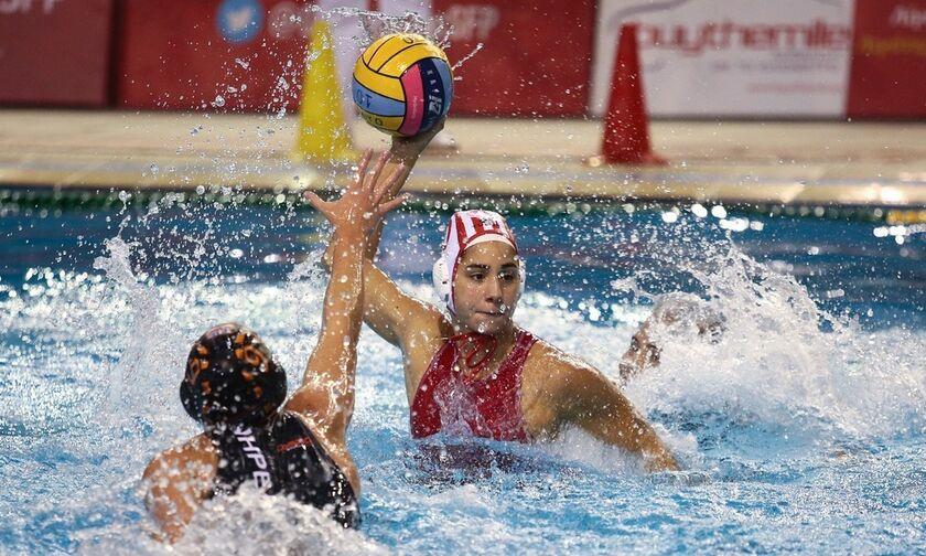 Α' κατηγορία πόλο γυναικών: «8 στα 8» ο Ολυμπιακός, 26-5 τον Νηρέα Χαλανδρίου