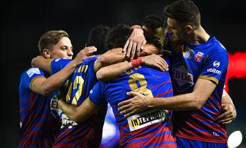 Βόλος - Παναιτωλικός: Το γκολ του Ριένστρα και το πέναλτι του Μπουένο για το 2-0 (vid)
