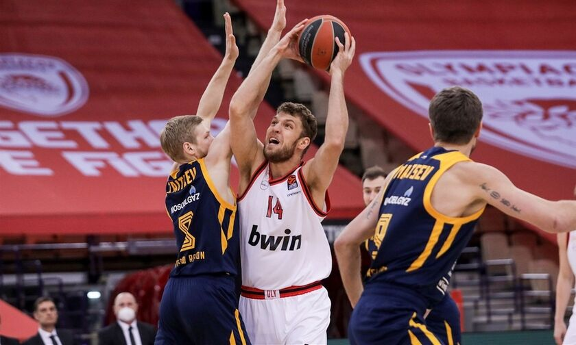 Σάσα Βεζένκοφ: Ξανά MVP της αγωνιστικής στην EuroLeague (vid)