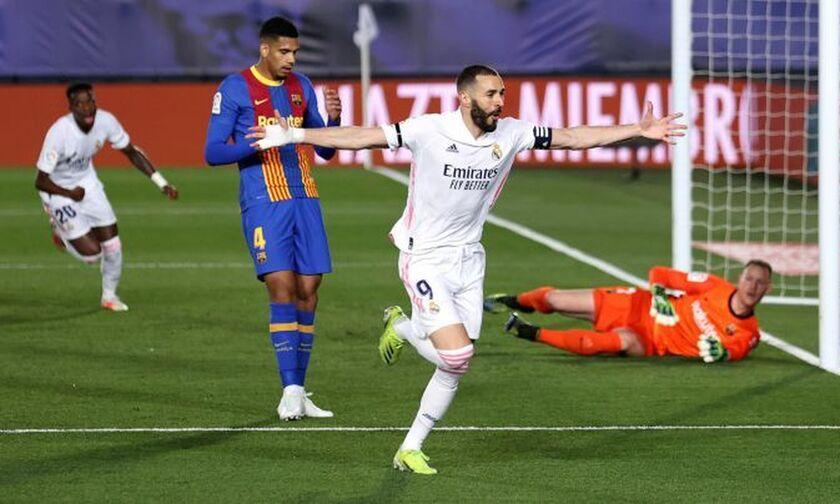 Ρεάλ Μαδρίτης - Μπαρτσελόνα 2-1: Νίκη στο κλάσικο και πρωτιά για την ομάδα του Ζιντάν (Highlights)!