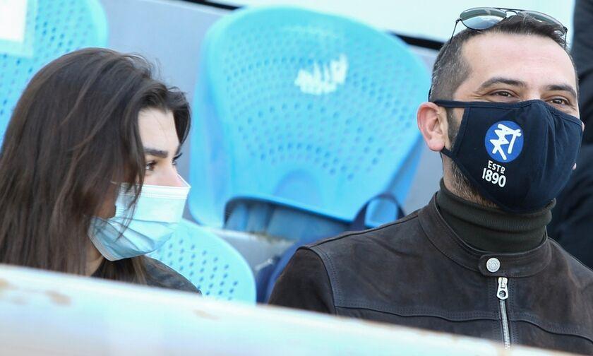 MasterChef: Ο Κουτσόπουλος και η Ζορζέτ από τις «Άγριες Μέλισσες» στο γήπεδο (pics)