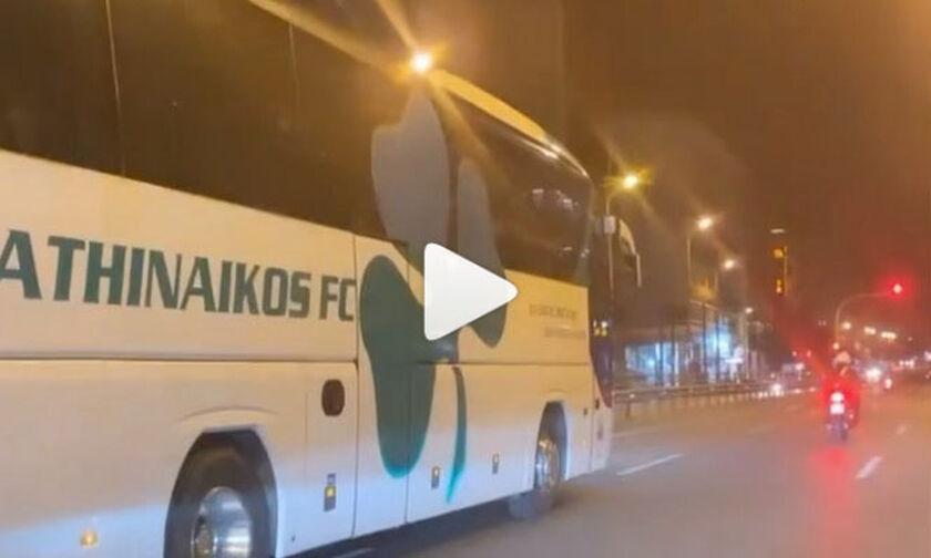 Το βίντεο του Μαρινάκη με το πούλμαν του Παναθηναϊκού υπό τους ήχους της «Έξαψης»! (vid)