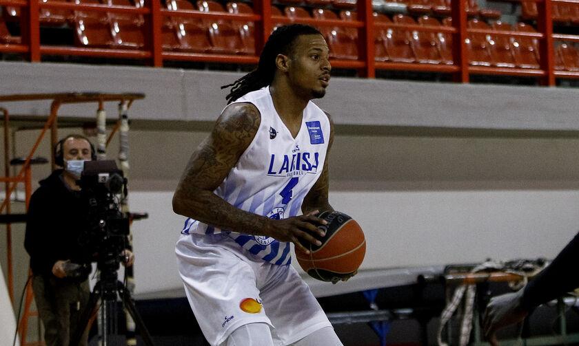 Basket League: Κορυφαίος ριμπάουντερ της Λάρισας ο Ρας