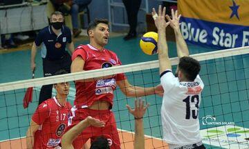 Volleyleague ανδρών: Ο ΠΑΟΚ νίκησε στη Σύρο (1-3) και «αγγίζει» την τρίτη θέση (vid)