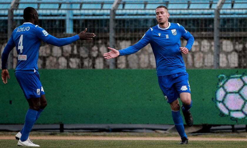 ΠΑΣ Γιάννινα - Λαμία: Το γκολ του Τζανετόπουλου για το 1-1 (vid)
