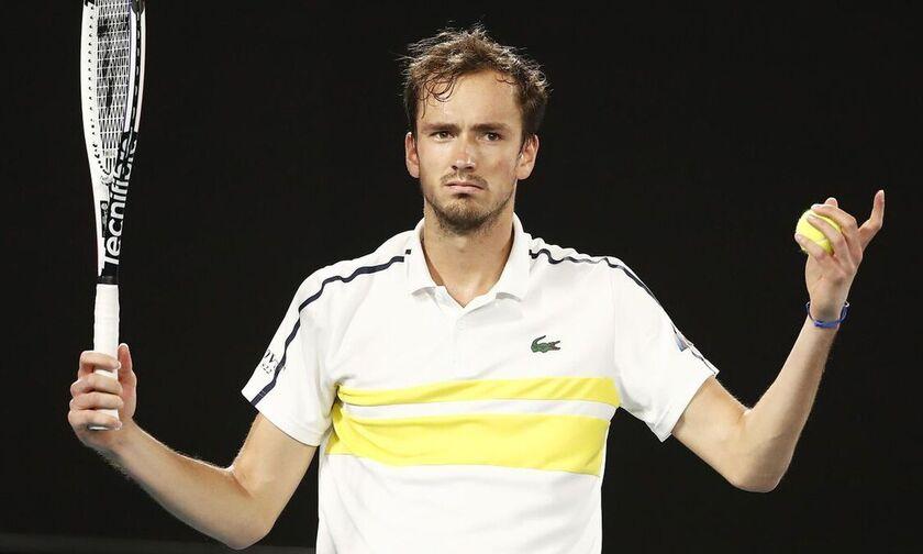 Monte Carlo Masters: Μένει εκτός ο Μεντβέντεφ, βρέθηκε θετικός στον κορονοϊό