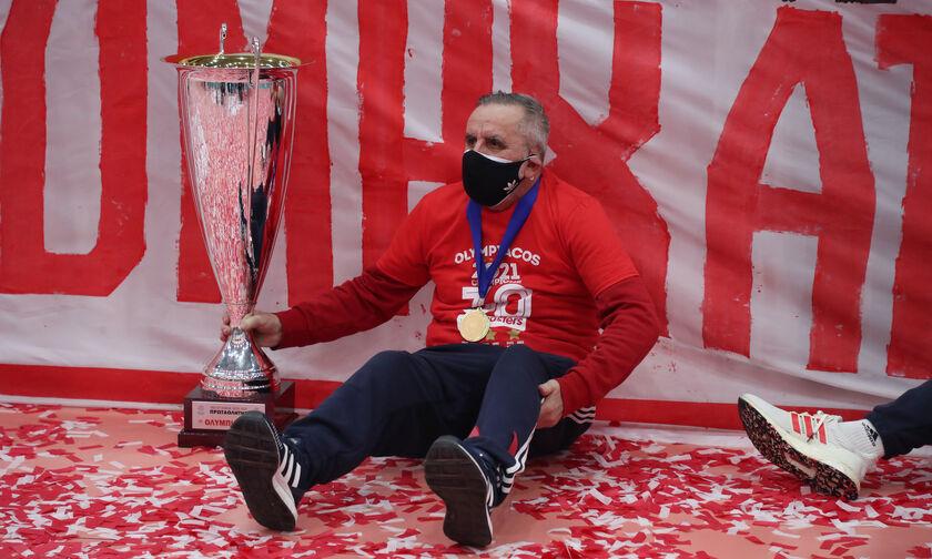 Ολυμπιακός: Ο Σπύρος Μπλέτσας έφτασε τα 38 τρόπαια!