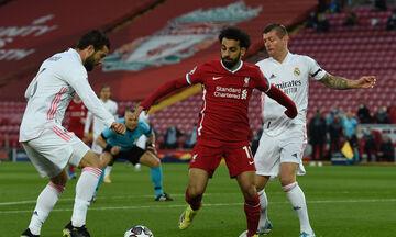 Λίβερπουλ - Ρεάλ Μαδρίτης 0-0: Στα ημιτελικά χωρίς να... ιδρώσουν οι «μερένγκες»-highlights