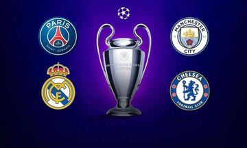 Τα 7 «κλειδιά» της πρόκρισης των 4άρων «μνηστήρων» στα ημιτελικά του Champions League