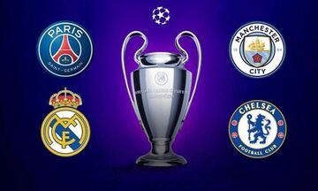 Champions League: Οι ημερομηνίες των ημιτελικών Ρεάλ - Τσέλσι και Παρί - Μάντσεστερ Σίτι