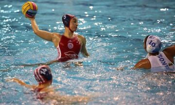 Α' Εθνική πόλο γυναικών: Απόλυτο με «10 στα 10» ο Ολυμπιακός, 17-3 τον Εθνικό