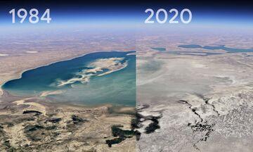 Google Earth: «Γυρίστε τον χρόνο» 37 χρόνια πίσω - Δείτε τη νέα εφαρμογή Timelapse (vid)