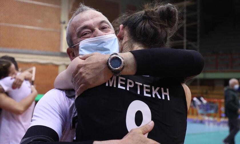 Τάκης Φλώρος: «Ο ΠΑΟΚ έκανε ένα αθλητικό θαύμα, χάρη στον Αμοιρίδη»-Κυπελλούχοι προπονητές-παίκτριες