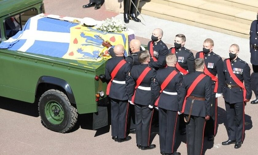 LIVE : Η κηδεία του πρίγκιπα Φιλίππου, Δούκα του Εδιμβούργου με την ελληνική σημαία