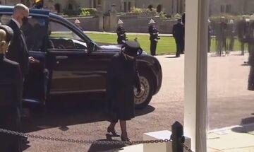 Κηδεία πρίγκιπα Φίλιππου: Συντετριμμένη η βασίλισσα Ελισάβετ