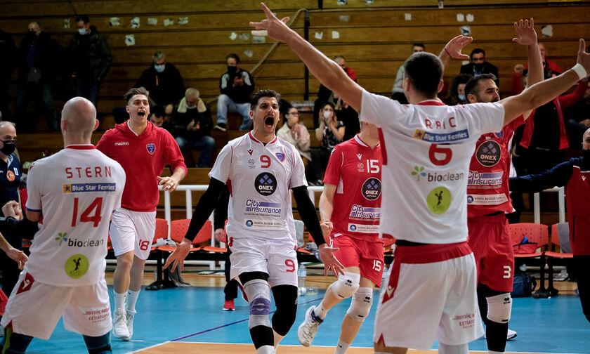 Oλυμπιακός-Φοίνικας Σύρου 0-3 : Με «ιπτάμενο» Πρωτοψάλτη (highlights)