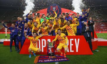 Μπαρτσελόνα: Ισοφάρισε την Ρεάλ Μαδρίτης με 92 τίτλους! (pic)