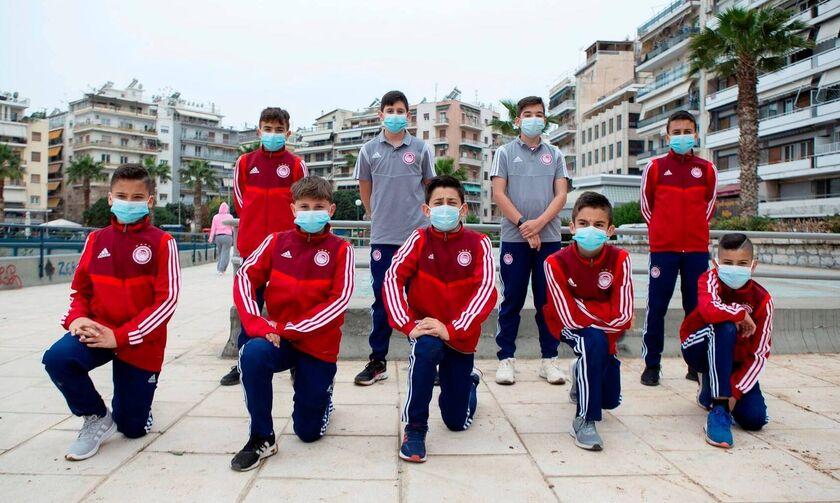 Ολυμπιακός: Δενδροφύτευση στη Μαρίνα Ζέας από την Ακαδημία