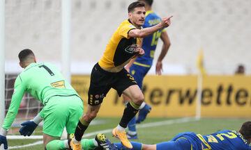ΑΕΚ - Αστέρας Τρίπολης 3-1: Όλα τα γκολ (vid)