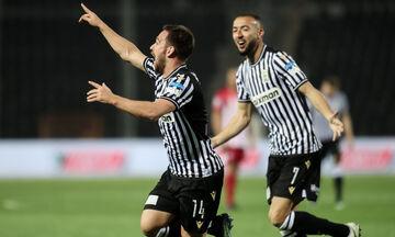 ΠΑΟΚ - Ολυμπιακός: Τα γκολ του Ζίβκοβιτς για το 2-0 (vid)