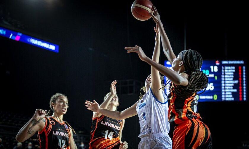 Ευρωλίγκα μπάσκετ γυναικών: Πρωταθλήτρια Ευρώπης πάλι η Εκατερίνμπουργκ! (highlights)