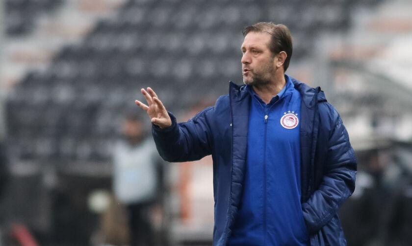 ΠΑΟΚ-Ολυμπιακός 2-0: Μαρτίνς: «Δεν μας αντιπροσωπεύει το δεύτερο ημίχρονο» (vid)