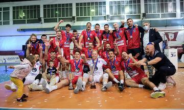 Φίλιππος Βέροιας-Φοίνικας Σύρου 1-3:  Το Λιγκ Καπ βόλεϊ επιστρέφει στο Αιγαίο! (highlights)