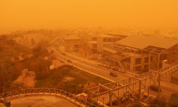 Καιρός: Νεφώσεις, τοπικές βροχές, σποραδικές καταιγίδες, μεταφορά αφρικανικής σκόνης