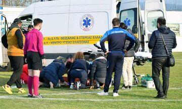 Το μήνυμα του 20χρονου, που τραυματίστηκε στο ΠΟ Ελασσόνας - ΑΟ Σελλάνων
