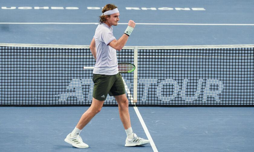ATP: Πλησίασε τον Τιμ στο Νο 4 ο Τσιτσιπάς