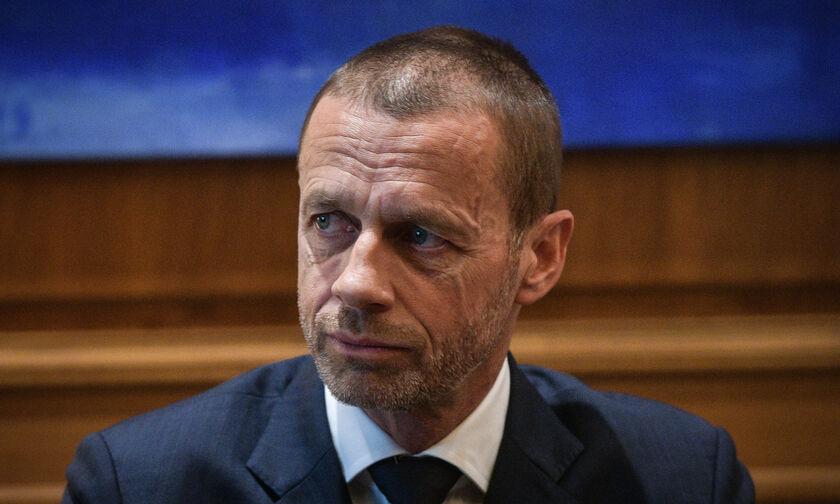 Τσέφεριν: «Όσοι αγωνιστούν στη European Super League δεν θα παίξουν στο Mundial και στο Euro»